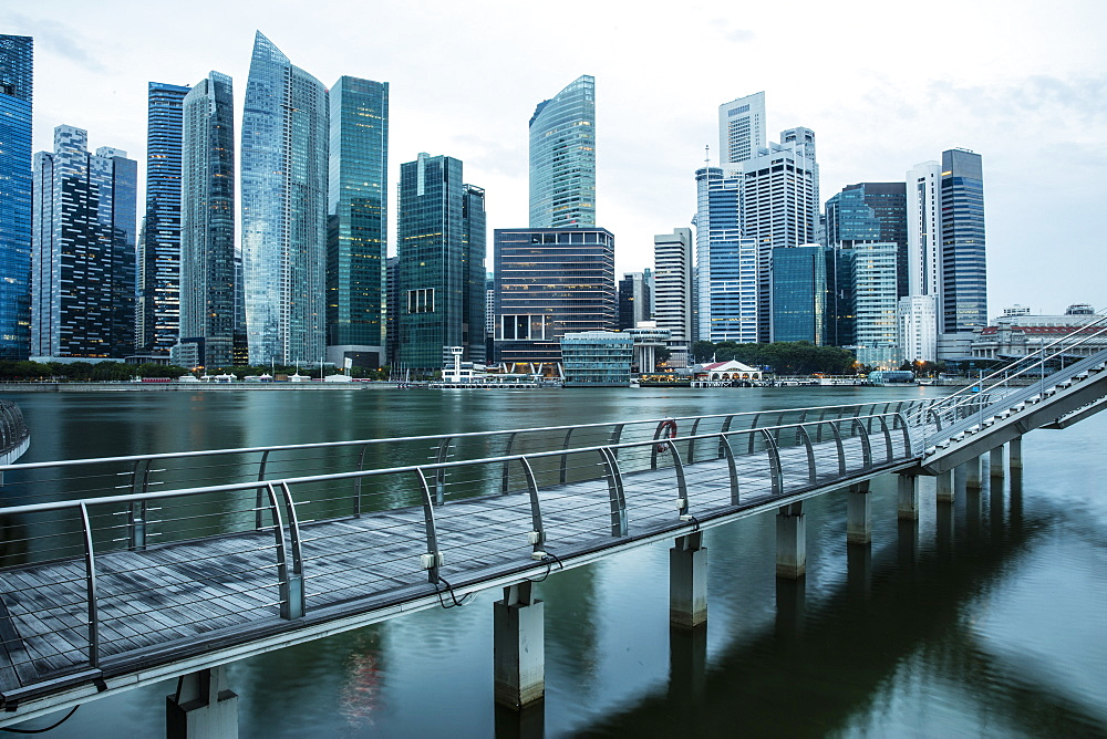 Financial District, Singapore, Southeast Asia, Asia - 728-6354
