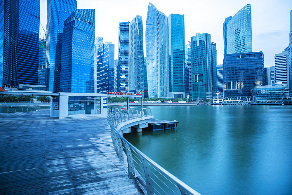 Financial District, Singapore, Southeast Asia, Asia - 728-6355