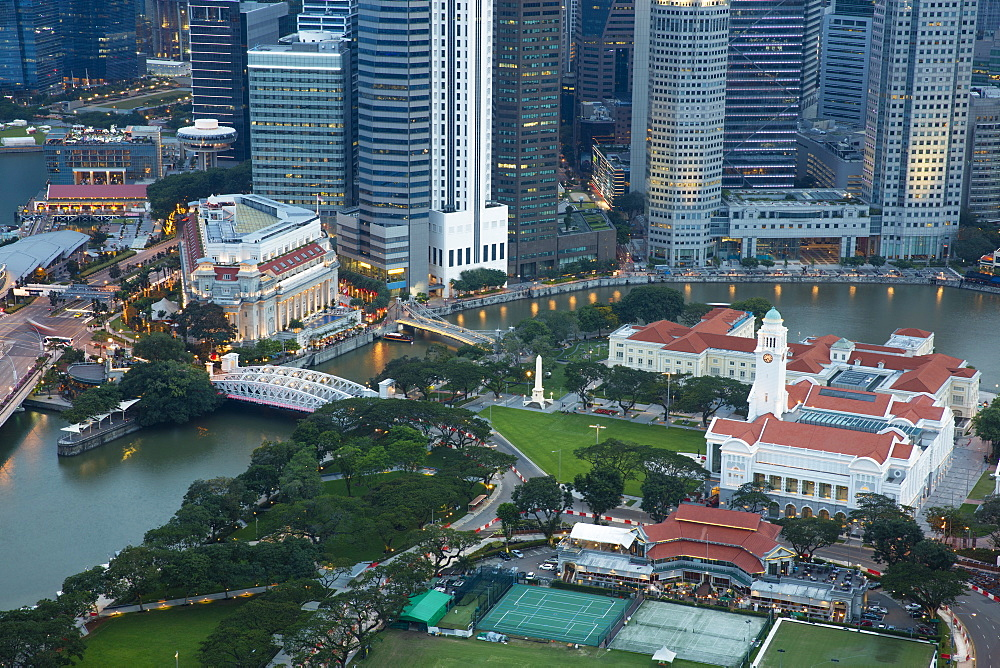 Financial District, Singapore, Southeast Asia, Asia - 728-6358
