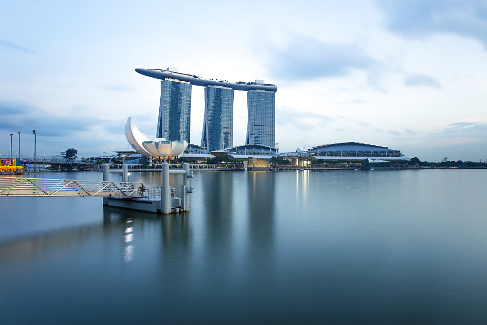 Marina Bay, Singapore, Southeast Asia, Asia - 728-6364