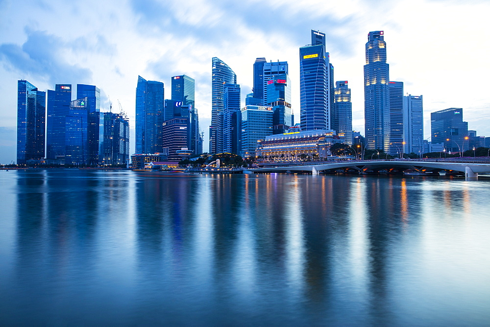 Financial District, Singapore, Southeast Asia, Asia - 728-6365