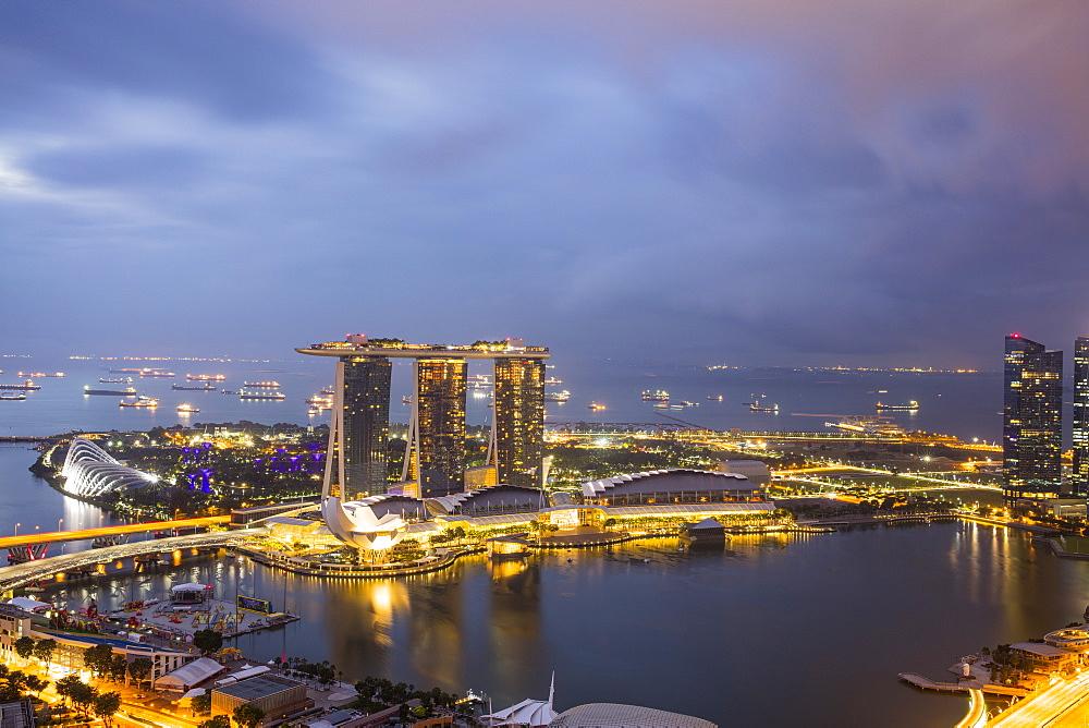 Marina Bay, Singapore, Southeast Asia, Asia - 728-6370