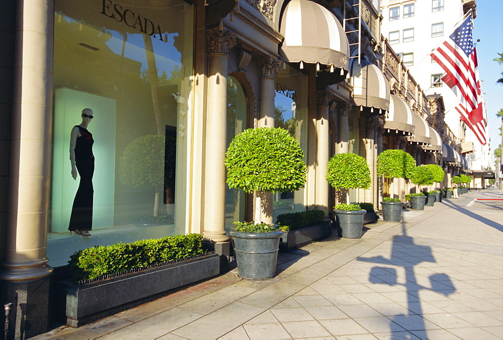 Rodeo Drive, Beverly Hills, California, USA *** Local Caption ***