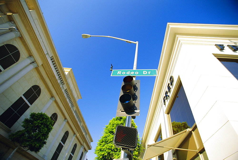 Rodeo Drive, Los Angeles, California, USA *** Local Caption ***