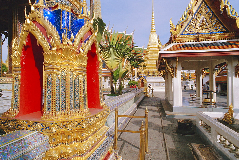 Grand Palace, Bangkok, Thailand *** Local Caption ***