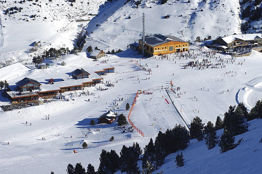 Mountain restaurant, Soldeu ski resort, Andorra, Europe