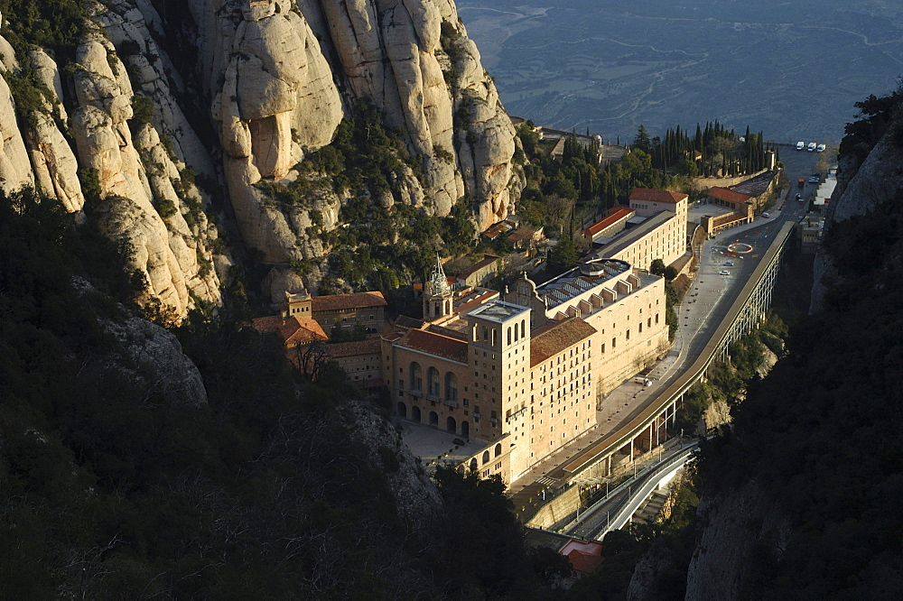 Monastery of Montserrat, Montserrat, Catalonia, Spain, Europe