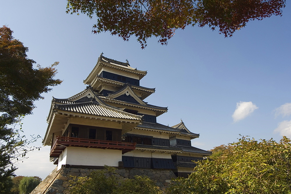 Matsumoto Castle, Nagano prefecture, Kyoto, Japan, Asia