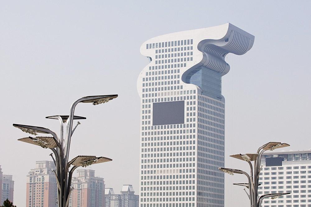 Pangu Plaza 7 Star Dragon Hotel, Olympic Green area, Beijing, China, Asia - 733-3080