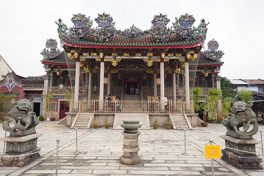 Khoo Kongsi clan house and temple, Georgetown, Penang, Malaysia, Southeast Asia, Asia