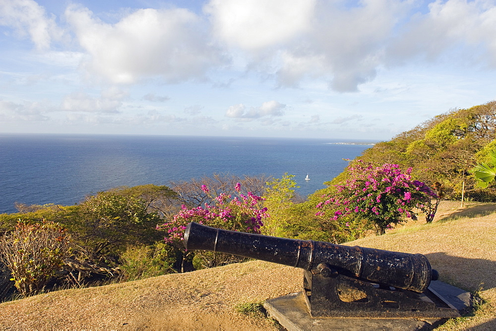 Cannon at Fort George, Scarborough, Tobago, Trinidad and Tobago, West Indies, Caribbean, Central America