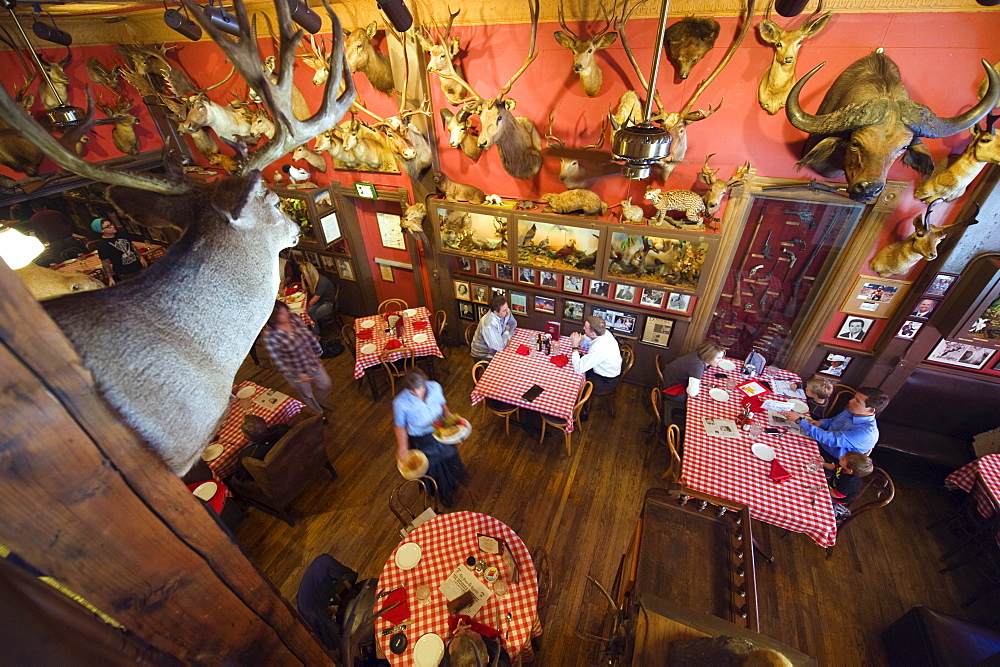 The Buckhorn Exchange restaurant, established in 1893, Denver, Colorado,United States of America, North America