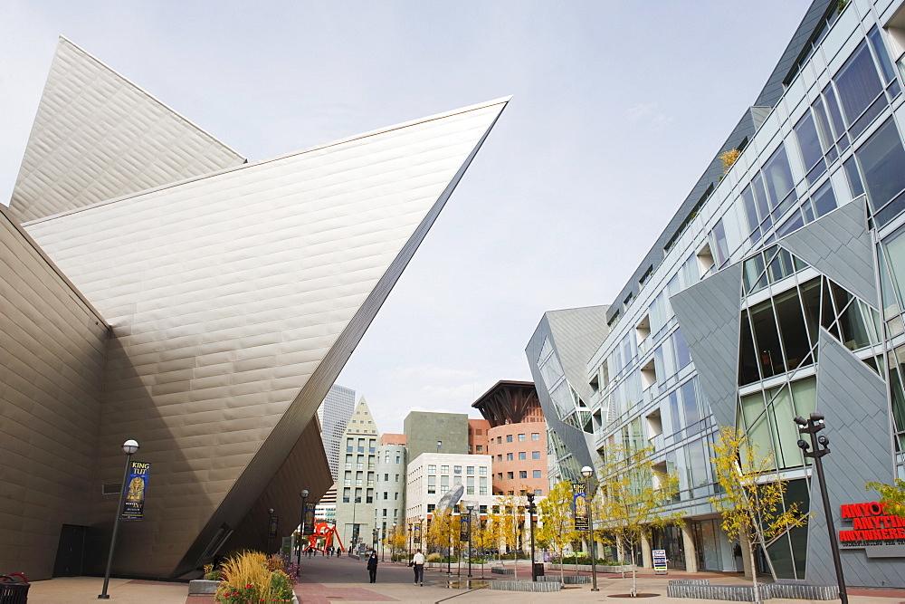 Downtown Denver Art Museum, Denver, Colorado, United States of America, North America