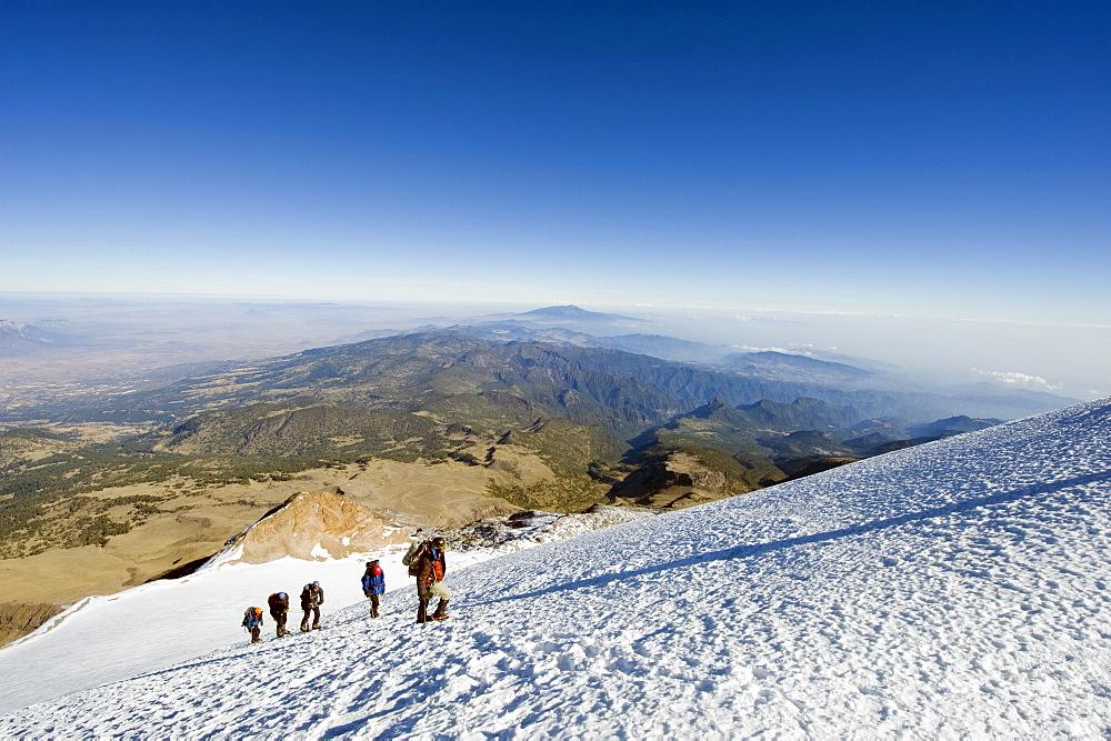 Pico de Orizaba, Veracruz state, Mexico, North America