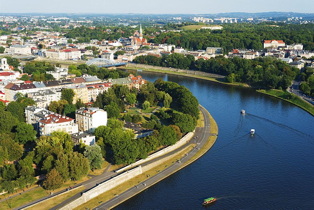 Vistula River, Krakow, Malopolska, Poland, Europe