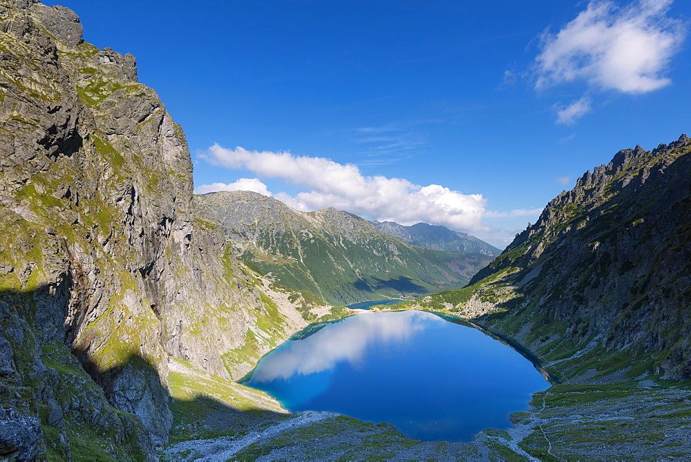 Lake Morskie Oko (Eye of the Sea), Zakopane, Carpathian Mountains, Poland, Europe