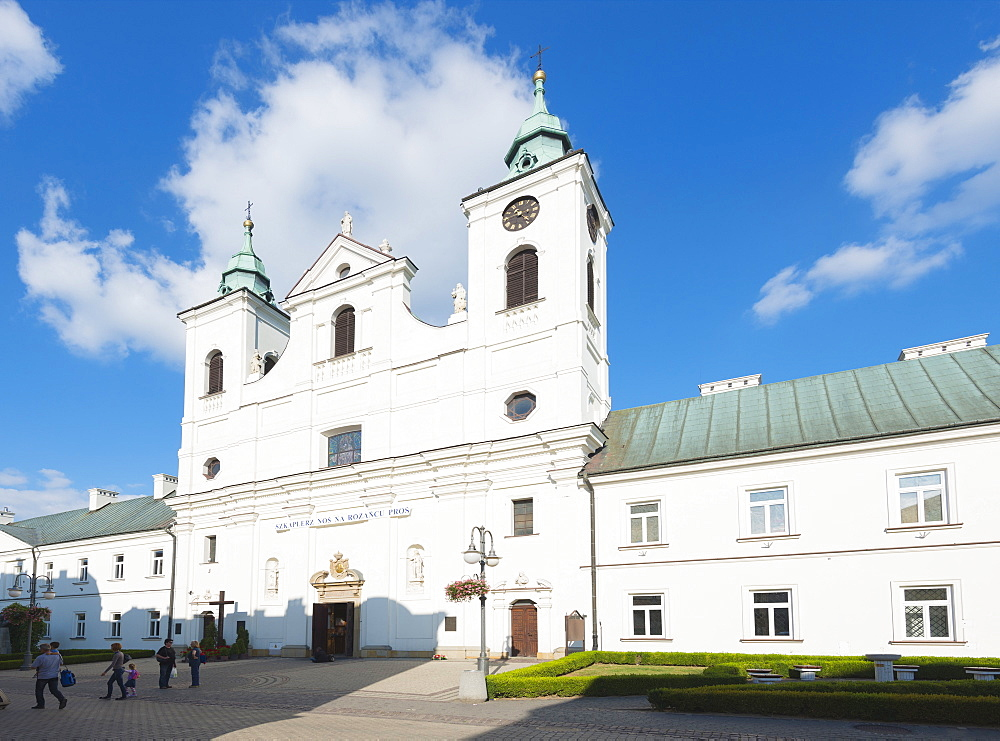 Old Convent of Piarist Friars and St. Cross, Church of the Holy Cross, Rzeszow, Poland, Europe