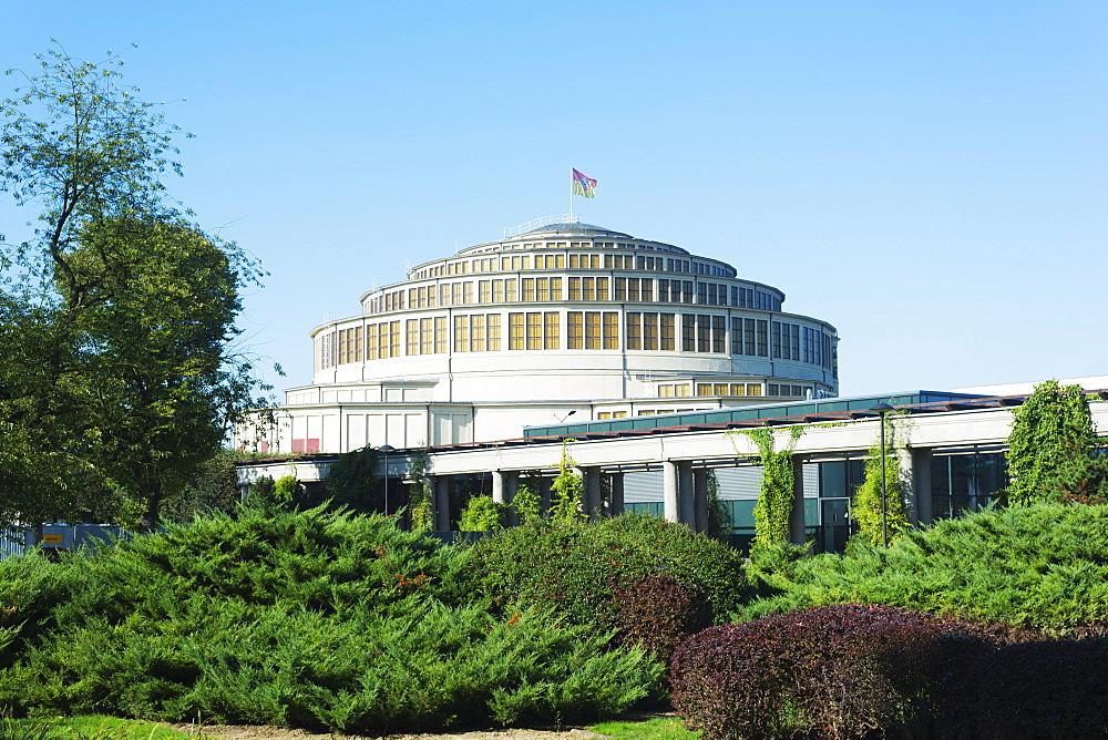Centennial Hall, UNESCO World Heritage Site, Wroclaw, Silesia, Poland, Europe