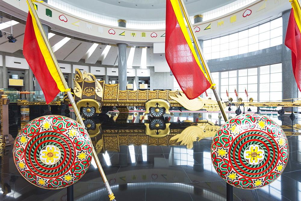 Royal Regalia Museum, Bandar Seri Begawan, Brunei, Borneo, Southeast Asia, Asia