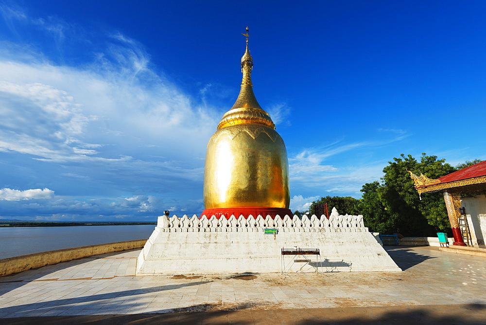 Bupaya Pagoda, Bagan (Pagan), Myanmar (Burma), Asia