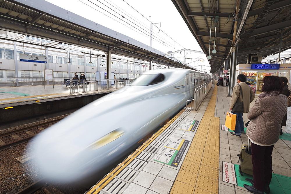 Shinkansen bullet train, Honshu, Japan, Asia