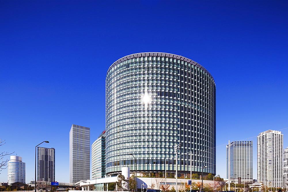 Business district, Yokohama, Honshu, Japan, Asia
