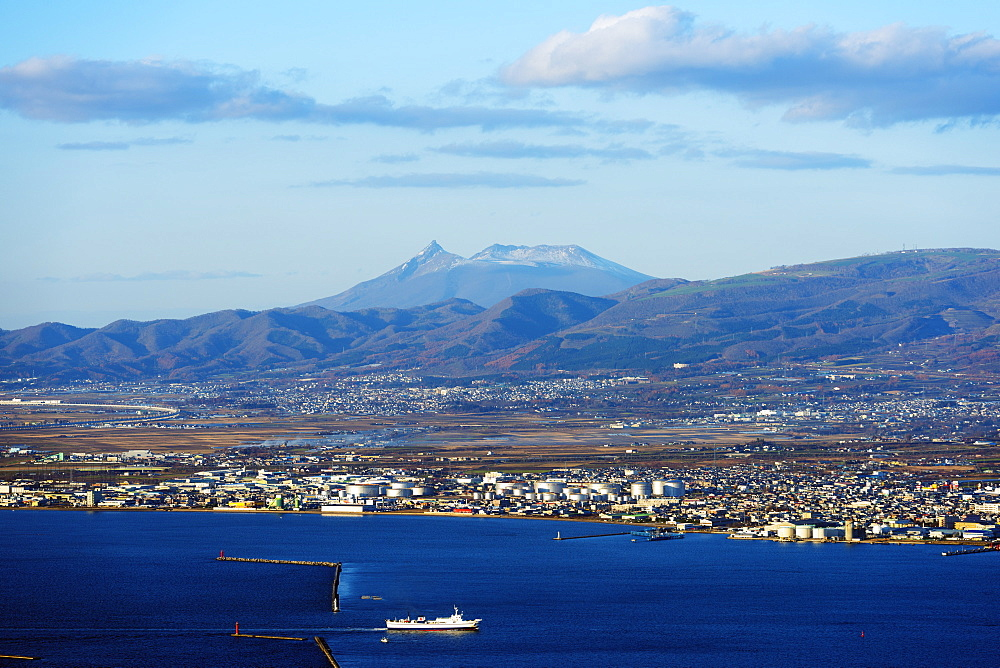 Hakodate Bay view, Hokkaido, Japan, Asia