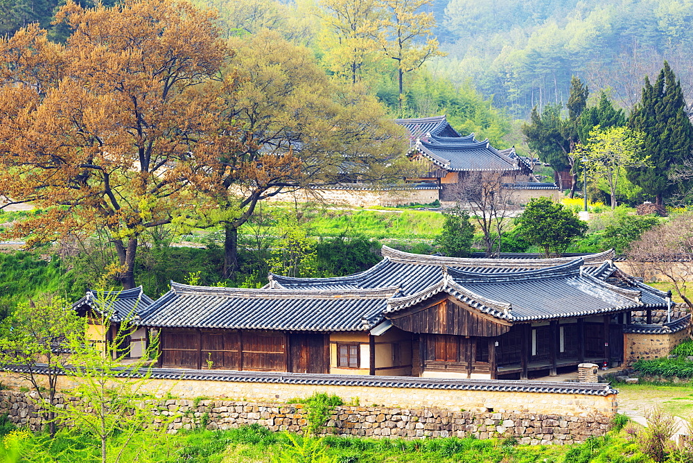 Yangdong folk village, UNESCO World Heritage Site, Gyeongsangbuk-do, South Korea, Asia