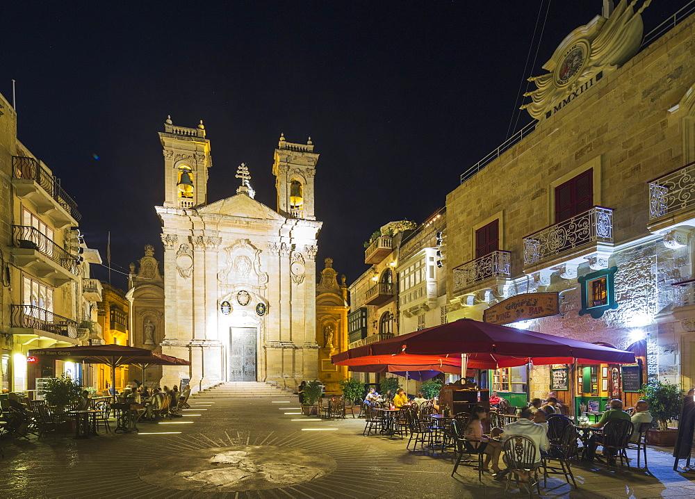 Basilica of St. George, Victoria (Rabat), Gozo Island, Malta, Mediterranean, Europe