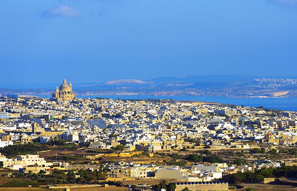 Xewkija Rotunda, Gozo Island, Malta, Mediterranean, Europe