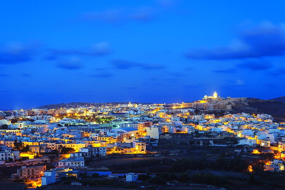 Il-Kastell citadel fortress, Victoria (Rabat), Gozo Island, Malta, Mediterranean, Europe