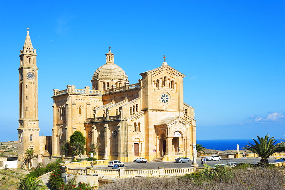 Basilica of Ta'Pinu, Gozo Island, Malta, Mediterranean, Europe