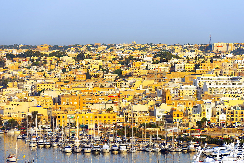 Lazzaretto Creek Marina, Valletta, Malta, Mediterranean, Europe
