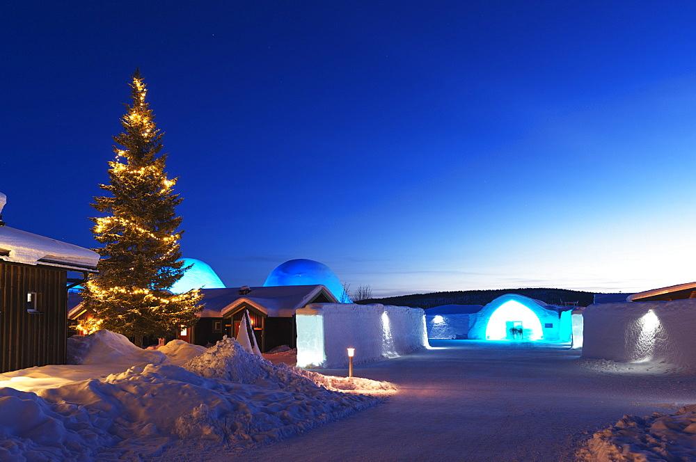 Ice Hotel, Kiruna, Lapland, Arctic Circle, Sweden, Scandinavia, Europe