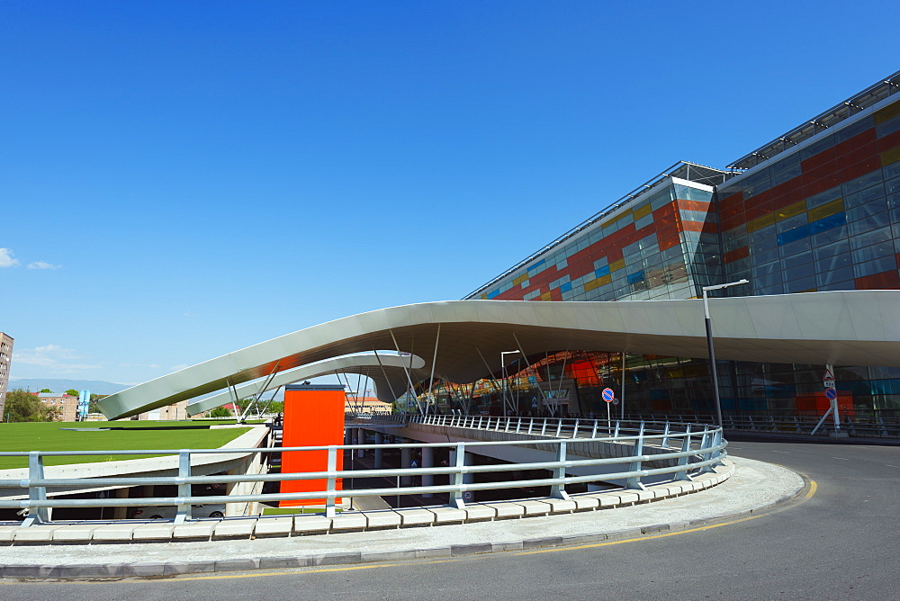 Zvartnots International Airport, Yerevan, Armenia, Caucasus region, Central Asia, Asia