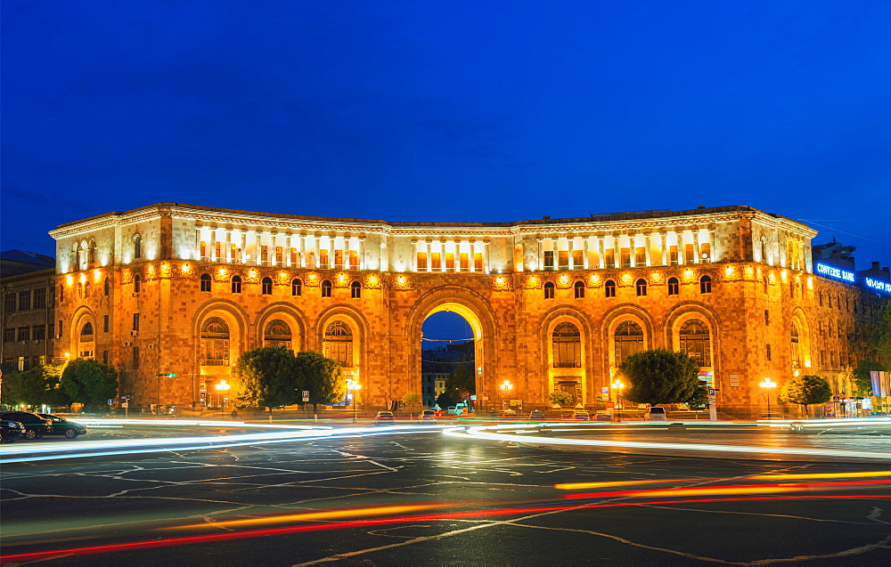 Republic Square, Yerevan, Armenia, Caucasus, Central Asia, Asia