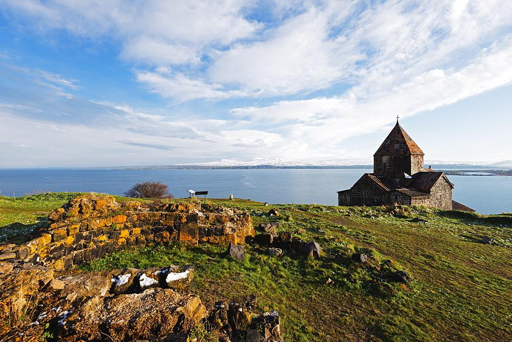 Sevanavank Monastery, Lake Sevan, Gegharkunik province, Armenia, Caucasus, Central Asia, Asia