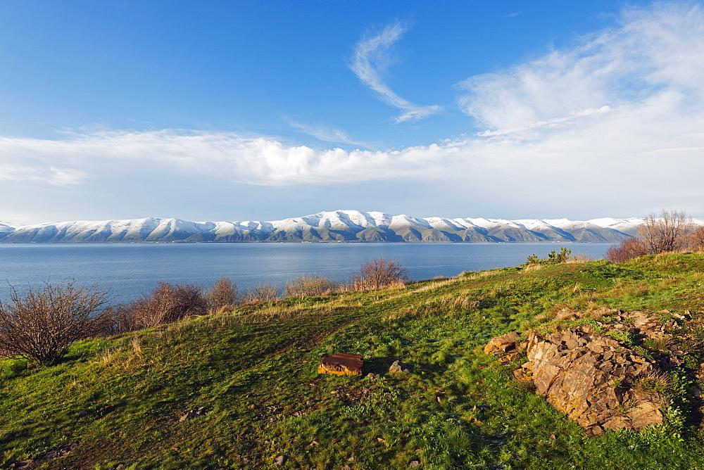 Lake Sevan, Gegharkunik province, Armenia, Caucasus, Central Asia, Asia