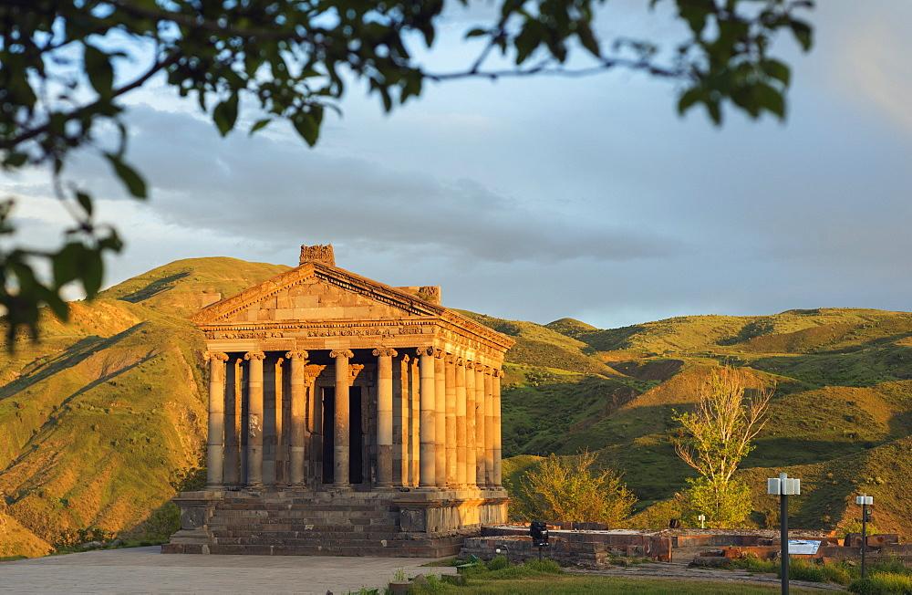 Garni Temple, UNESCO World Heritage Site, Garni, Kotayk Province, Armenia, Caucasus, Central Asia, Asia