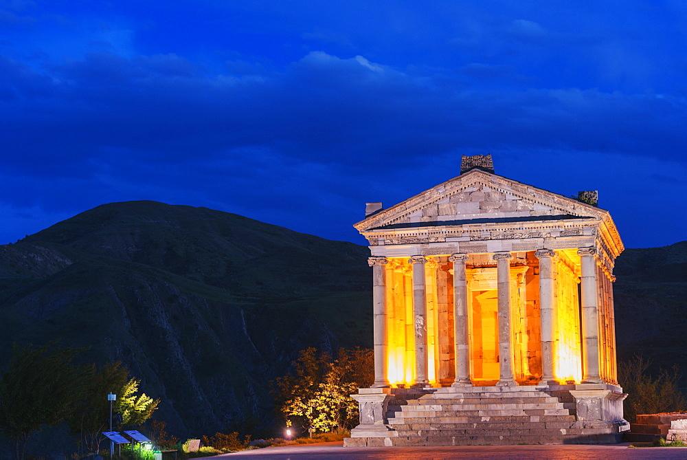 Garni Temple, UNESCO World Heritage Site, Kotayk Province, Armenia, Caucasus, Central Asia, Asia