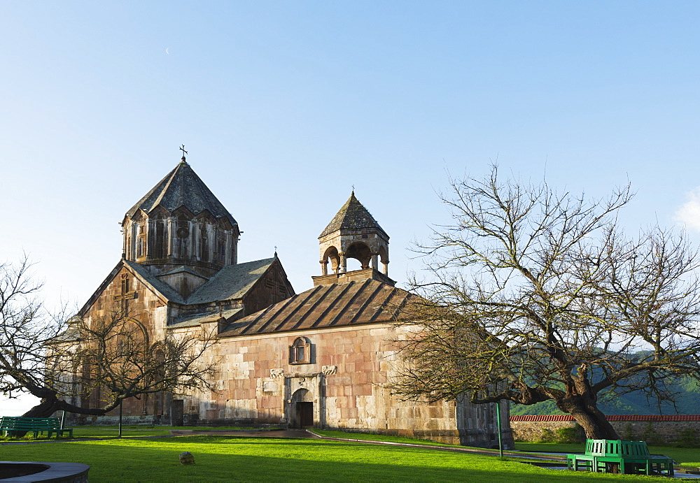 Gandzasar Monastery, independent Armenian enclave officially within Azerbaijan, Nagorno-Karabakh, Armenia, Caucasus, Central Asia, Asia