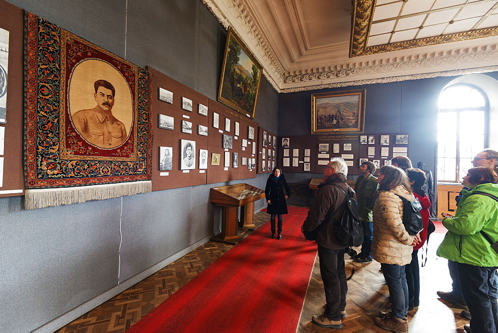 Museum of Joseph Stalin, Gori, Shida Kartli, Georgia, Caucasus, Central Asia, Asia