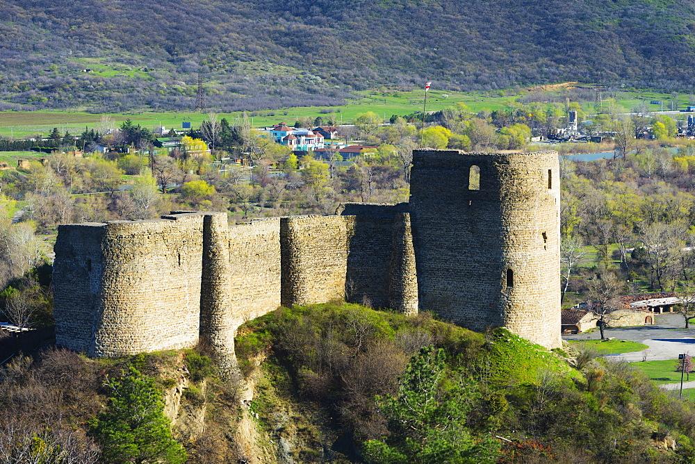 Bebris Tsikhe castle, Mtskheta, historical capital Georgia, Caucasus, Central Asia, Asia