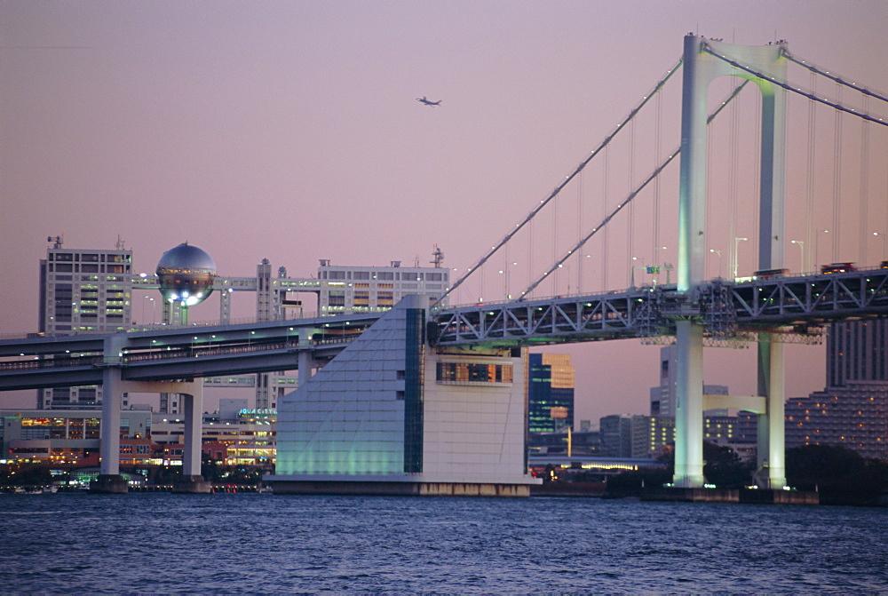 Odaiba, Rainbow Bridge, Tokyo, Japan