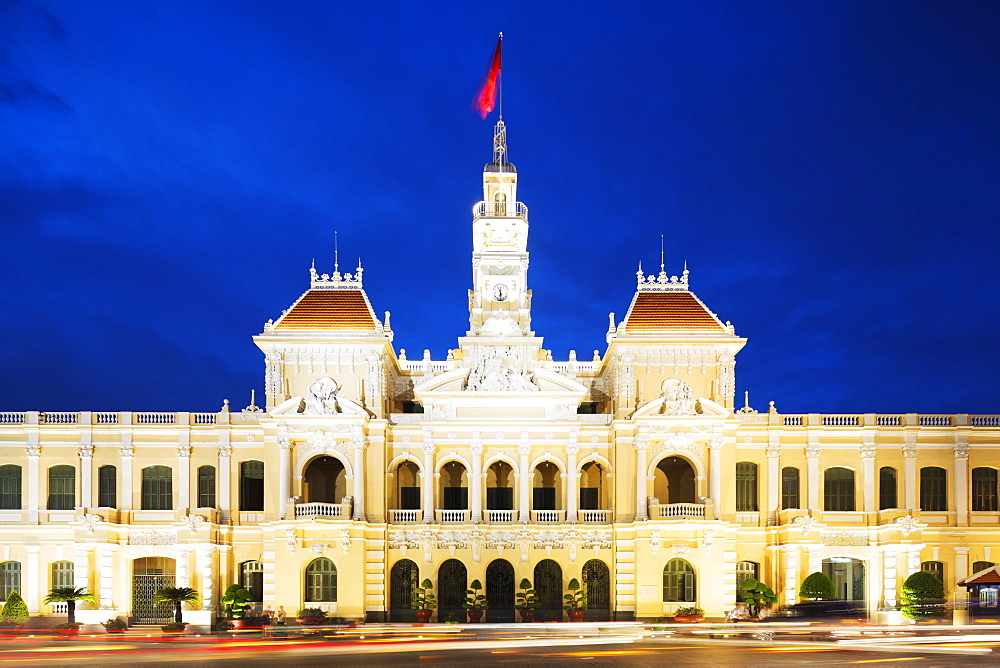 Hotel de Ville (City Hall), Ho Chi Minh City (Saigon), Vietnam, Indochina, Southeast Asia, Asia