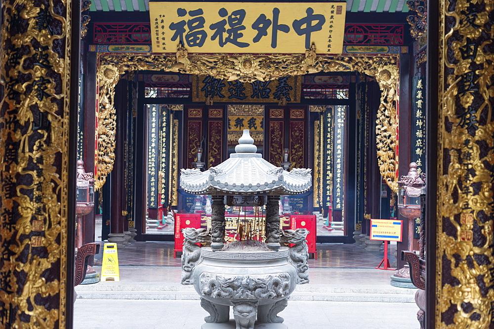 Nghia An Hoi Quan Pagoda, Cholon, Ho Chi Minh City (Saigon), Vietnam, Indochina, Southeast Asia, Asia