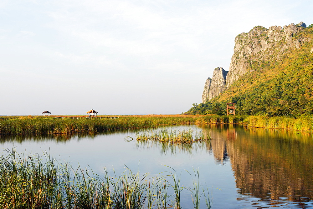 Khao San Roi Yot National Park wetlands, Prachuap Kiri Khan, Thailand, Southeast Asia, Asia