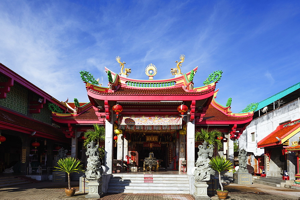 Chinese temple, Phuket, Thailand, Southeast Asia, Asia