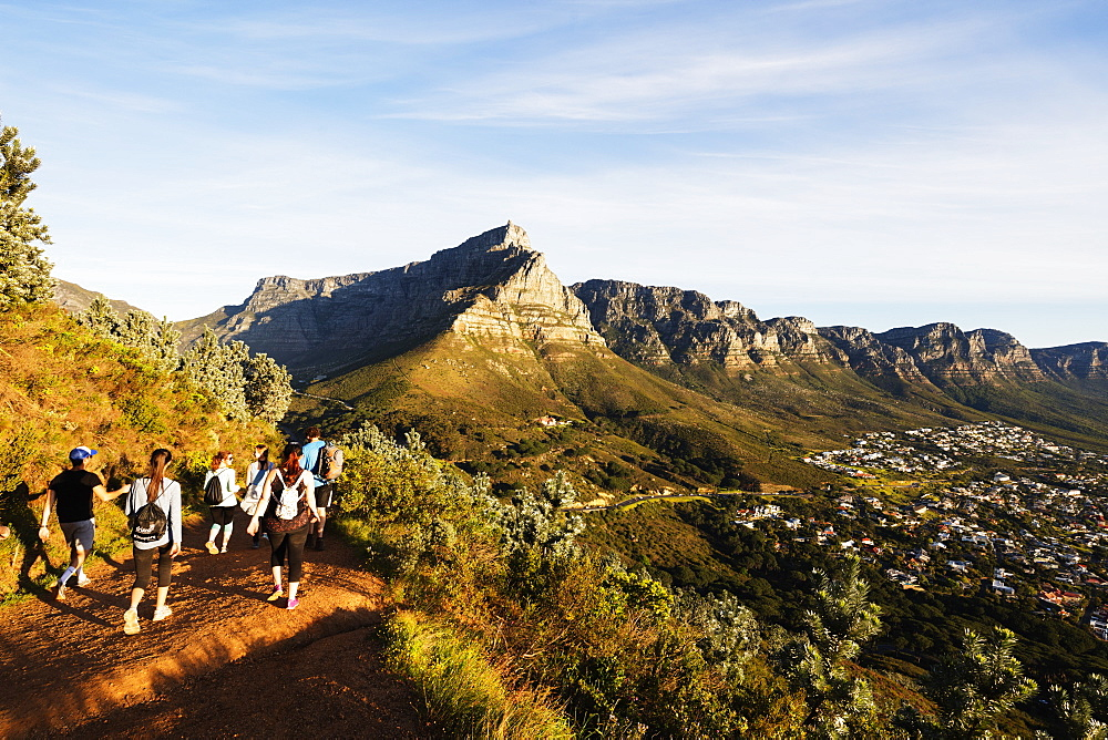 Twelve Apostles, Table Mountain National Park, Cape Town, Western Cape, South Africa, Africa