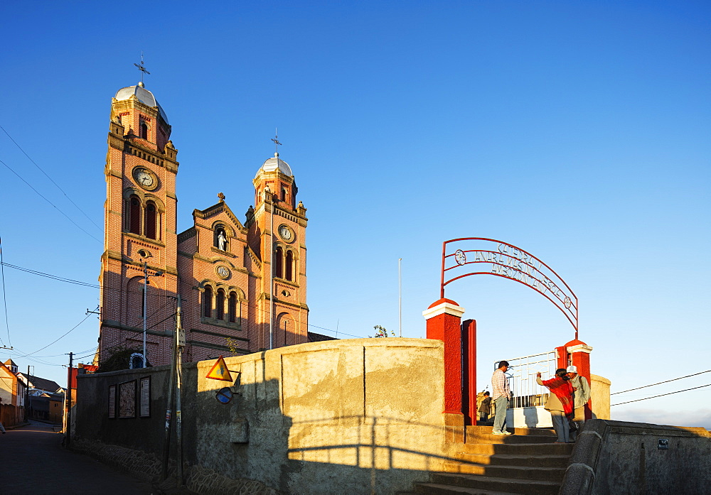 Ambozontany Cathedral, Fianarantsoa Haute Ville, old town, central area, Madagascar, Africa